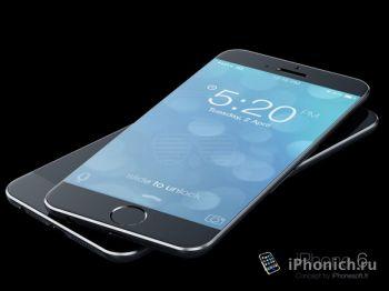Концепт iPhone 6 и iPhone 6c
