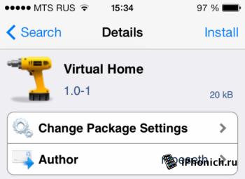 Твик Virtual Home - идеальная кнопка Home на iPhone 5S