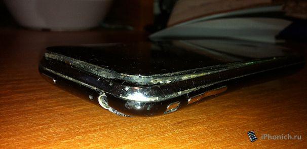 Аккумулятор iPhone 3GS, скоро взорвется