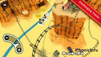 3D Rollercoaster Rush - Американские горки для iPhone