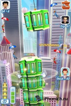 Tower Bloxx Deluxe 3D - игра на логику и реакцию для iPhone