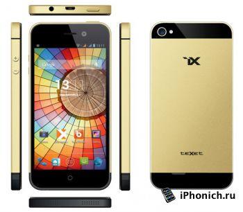Клон iPhone 5S - teXet iX/TM-4772