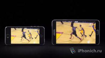 Samsung опять троллит iPhone и iPad (видео)
