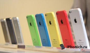 iPhone 5s значительно популярнее iPhone 5c