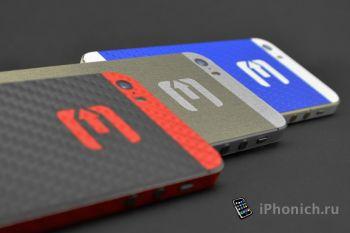 Карбоновые наклейки Evad3rs Skin для iPhone и iPad