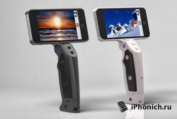 Grip&Shoot - превратит iPhone в миниатюрный камкордер