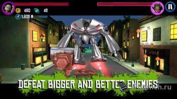 Teenage Mutant Ninja Turtles Rooftop Run - черепашки ниндзя для iOS
