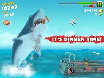 Hungry Shark Evolution - Осторожно! Голодные акулы!