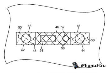 Apple спрячет переднюю камеру и вспышку iPhone за сеткой динамика