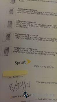 Sprint продает чехлы для iPhone 6