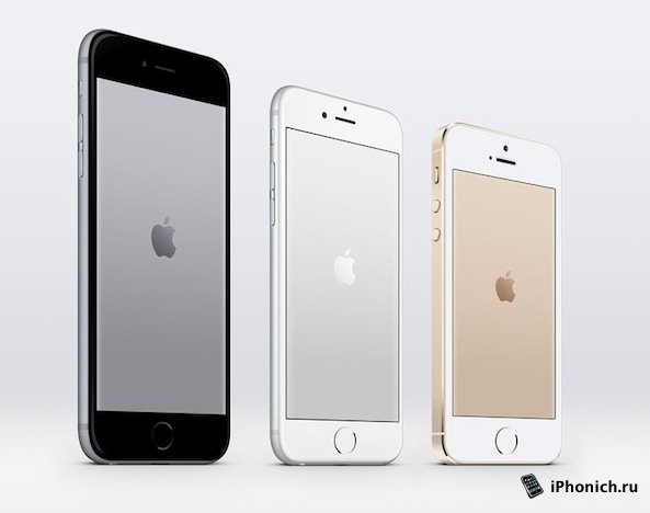 Обои с логотипом Apple для iPhone 6, iPhone 6 Plus и iPhone 5S