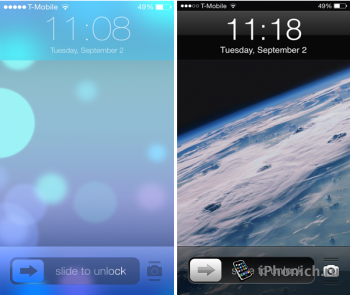 Твик ClassicLockScreen для iOS