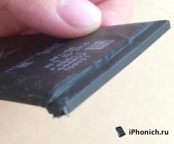 У 5,5-дюймового iPhone 6 аккумулятор 2915 мАч