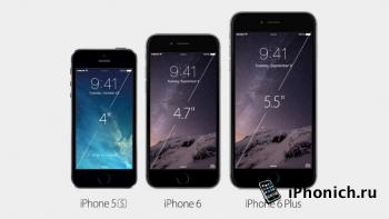 Обзор iPhone 6 и iPhone 6 Plus (видео)
