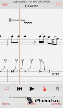 Guitar Pro — приложение для гитаристов