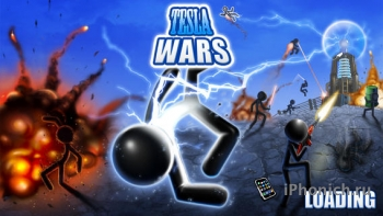 Tesla Wars - аркадная игра в жанре tower defense.