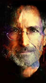 Обои для iPhone 6 Plus: Стив Джобс