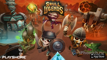 Skull Legends для любителей Tower Defense