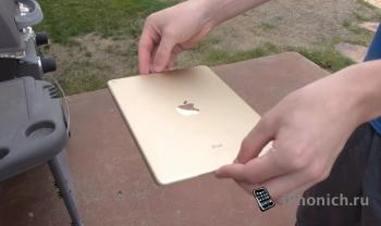 Что случится если уронить iPad Air 2