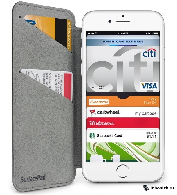 SurfacePad чехол премиум класса для iPhone 6