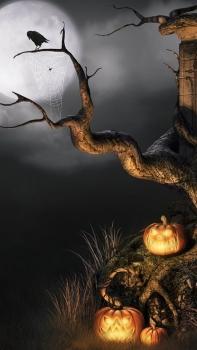 Обои Хэллоуин для iPhone 5S
