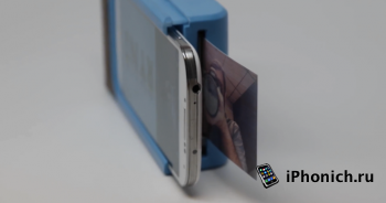 Чехол Prynt сделает из iPhone 6, Polaroid