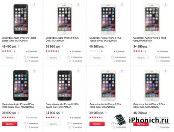 В России подоражали iPhone 6 и iPhone 6 Plus