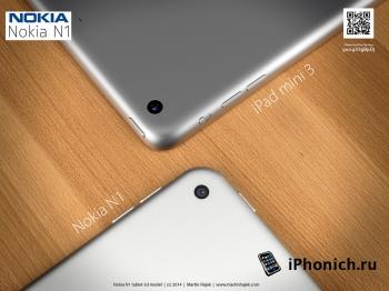 Дизайн Nokia N1 vs iPad mini 3