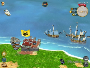 Sid Meier's Pirates! - Экшн-приключение для iPad