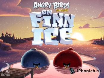 В Angry Birds Seasons новые новогодние уровни.