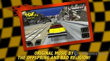 Crazy Taxi - знаменитые аркадные гонки.