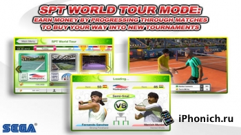Virtua Tennis Challenge - спортивная игра для iPhone и iPad