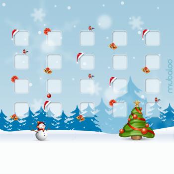 Новогодние обои для iPad Retina  (2048x2048)