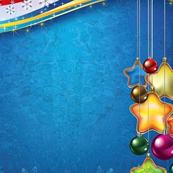 Новогодние обои для iPad (1024x1024)