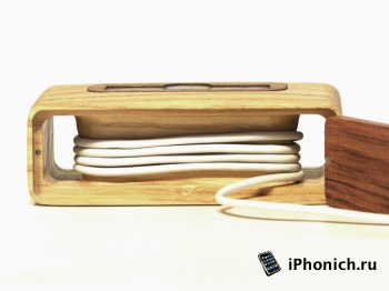 Spec.dock - деревянная док-станция для iPhone