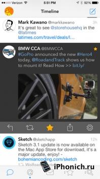 Tweetbot - Твиттер для iPhone и iPad