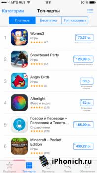 Цены на приложения в App Store выросли