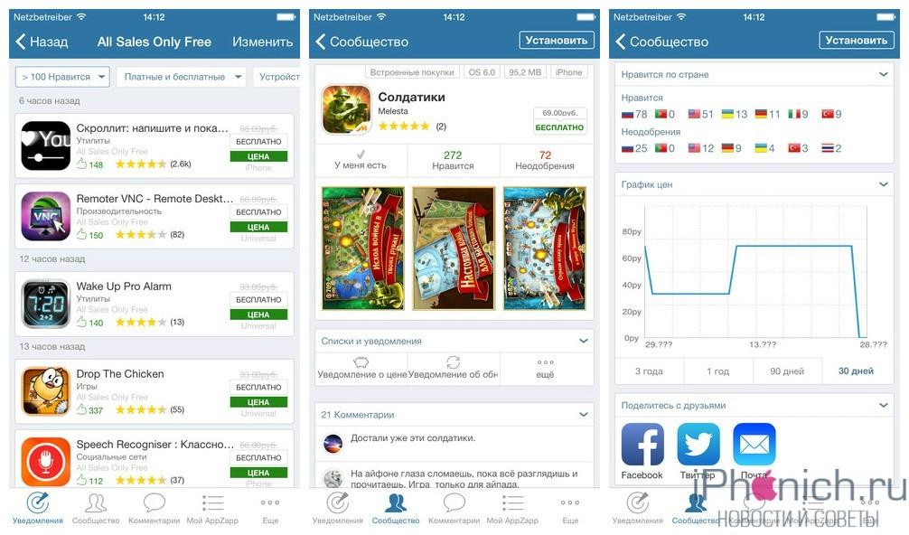 AppZapp Pro - ежедневно бесплатные программы для iPhone и iPad