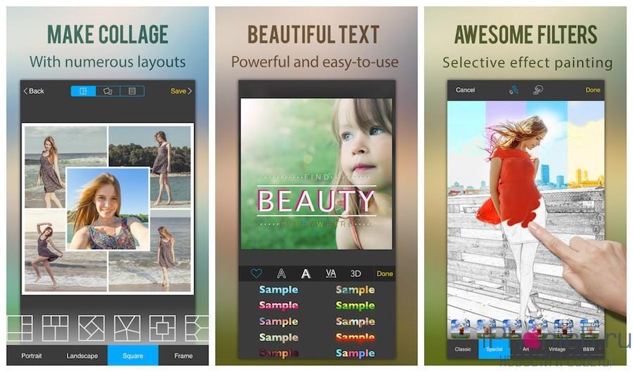 Perfect Image - Фоторедактор + Фотоколлаж для iPhone и iPad