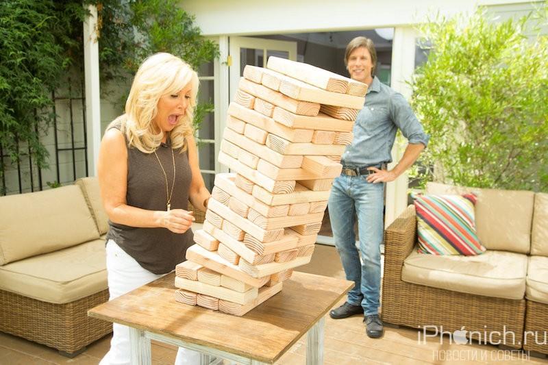 Jenga - игра на ловкость рук, смекалку и чувство равновесия