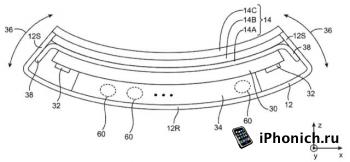 """Apple может выпустить """"резиновый"""" iPhone"""