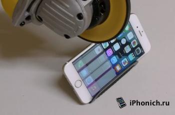 iPhone 6 vs болгарка
