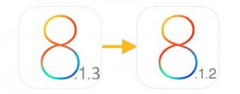 Как сделать откат на  iOS 8.1.2 с iOS 8.1.3