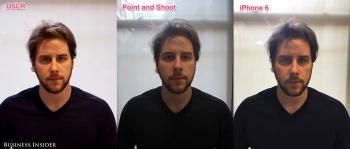 iPhone 6 vs Canon 5D Mark II и Canon PowerShot SD1400-IS