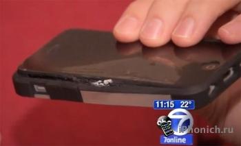 iPhone 5c взорвался в кармане