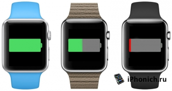"""У Apple Watch будет режим """"экономного расхода энергии"""""""