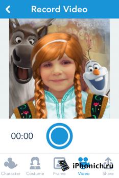 Show Your Disney Side - превращает Вас в героев дисневских мультиков