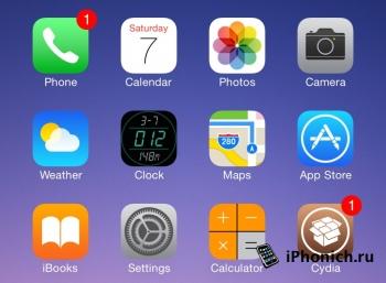 Твик Digital Clock Icon: заменяет иконку аналоговых часов в на цифровую
