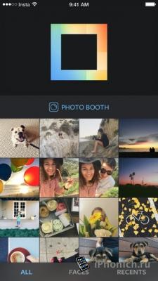 Layout from Instagram для создания коллажей