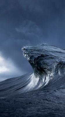 HD обои для iPhone 6 на тему: Волна